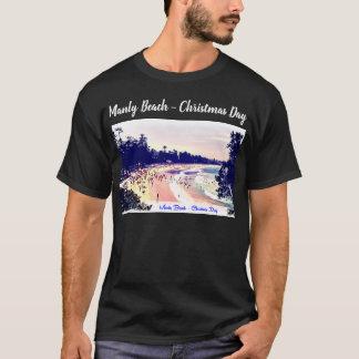 Camiseta ¿Orgullo de hombres de la playa este navidad?