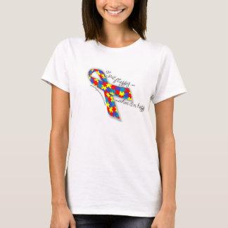 Camiseta Orgullo del autismo - consigo Flappy cuando soy