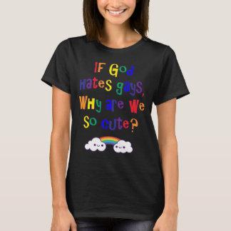 Camiseta Orgullo gay divertido, porqué somos tan lindos