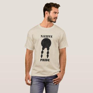 Camiseta Orgullo largo del natural del pelo