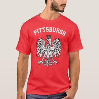 Camiseta Orgullo polaco de Pittsburgh