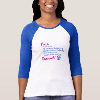 Camiseta orgullosa de Demócrata