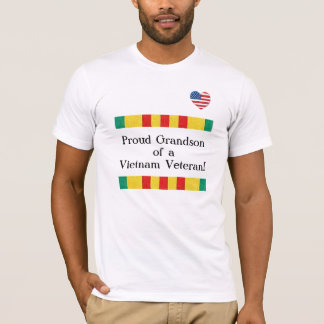 Camiseta orgullosa del veterano de Vietnam del