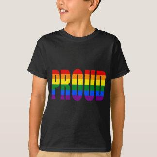 Camiseta ORGULLOSO (arco iris)