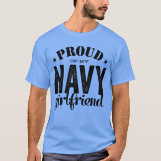 Camiseta Orgulloso de mi servicio de GirlfriendMilitary de