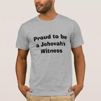 Camiseta Orgulloso ser el testigo de un Jehová