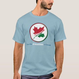Camiseta Orgulloso ser húngaro en Canadá