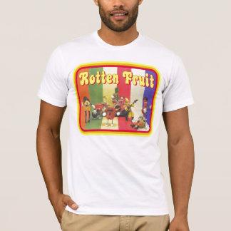 Camiseta original de la impresión de la fruta