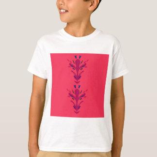 Camiseta Ornamentos populares rojos