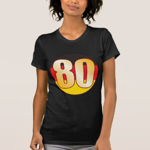 eb69ba4c1 Camisetas de American Apparel™ Número 80 | Zazzle.es