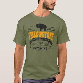 Camiseta Oro del vintage de Yellowstone