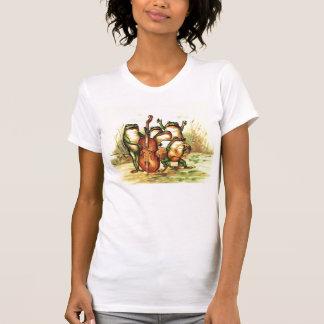 Camiseta Orquesta de la banda de los músicos de la rana del