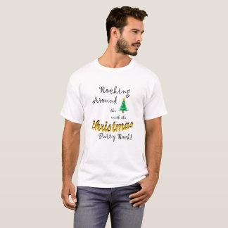 Camiseta Oscilación alrededor del árbol de navidad