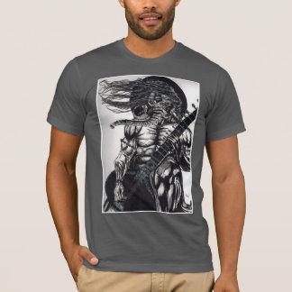 camiseta oscilante del sitar del ganesha