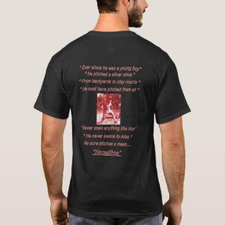 Camiseta oscura básica de las herraduras de los