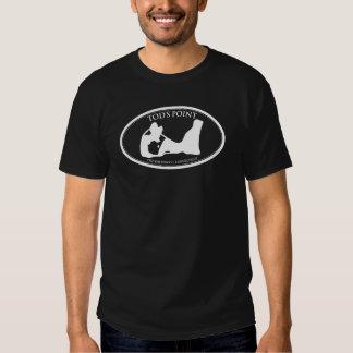 Camiseta oscura básica del punto de Tod's