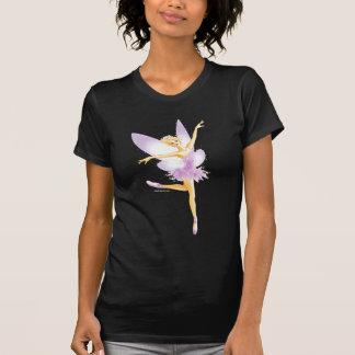 Camiseta oscura de hadas del ballet