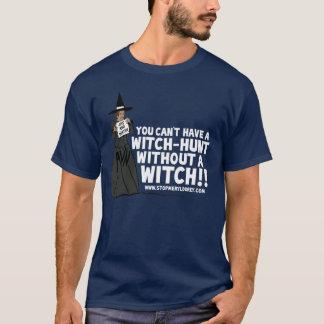 """Camiseta oscura de la """"caza de brujas"""""""