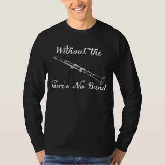 Camiseta oscura de la manga larga de los hombres