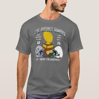 Camiseta oscura del cuenco del ejército