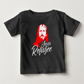 Camiseta oscura del jersey del bebé de Jesús