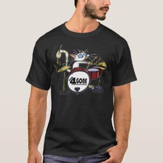 Camiseta oscura espiral
