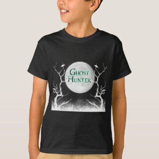 Camiseta Oscuridad de la luna del cazador del fantasma