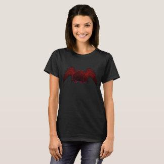 Camiseta Oscuridad de la rana de Pacman