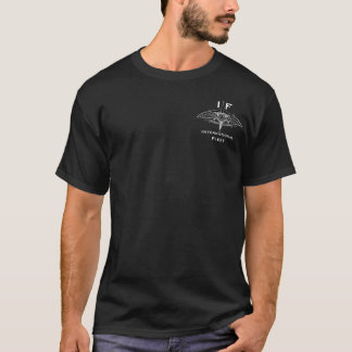 Camiseta Oscuridad internacional de la flota/oscuridad