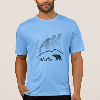 Camiseta Oso (AK) marrón del Kodiak de Alaska - logotipo