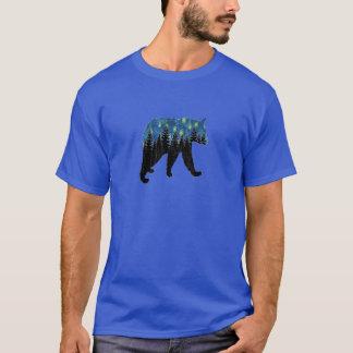 Camiseta oso con las luciérnagas