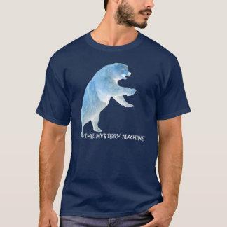 Camiseta Oso de la máquina del misterio (camisa oscura)