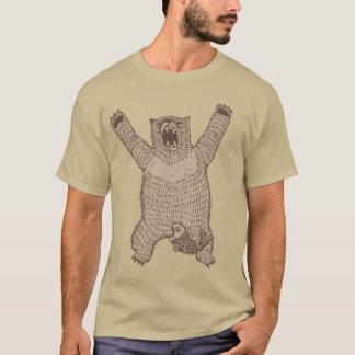 Camiseta Oso del rugido
