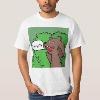 Camiseta oso gay