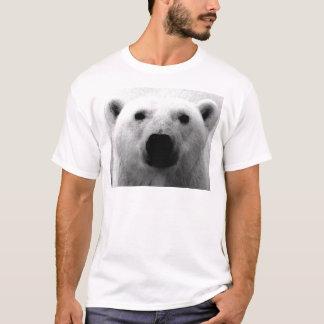 Camiseta Oso polar negro y blanco