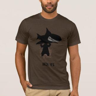 Camiseta Oso que sostiene un tiburón