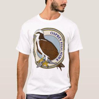 Camiseta Osprey (halcón de pescados) con la captura-m