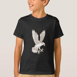 Camiseta Osprey Swooping el dibujo