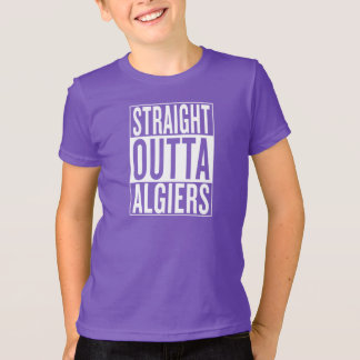 Camiseta outta recto Argel