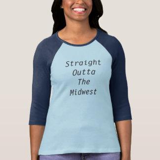 Camiseta Outta recto el Cercano oeste