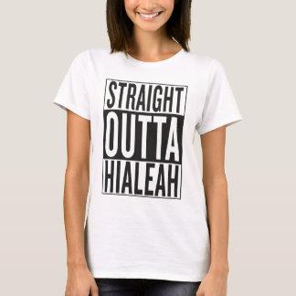 Camiseta outta recto Hialeah