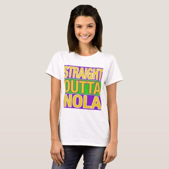 Camiseta Outta recto NOLA