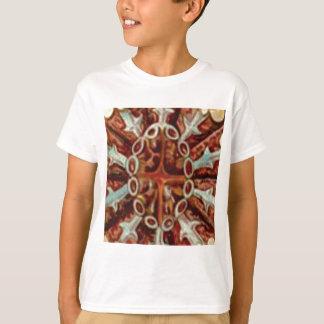 Camiseta óvalo de figuras y de formas
