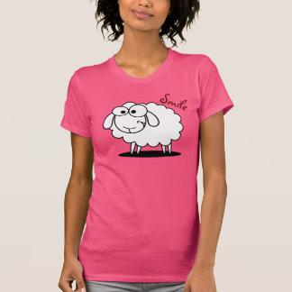 Camiseta Ovejas sonrientes divertidas
