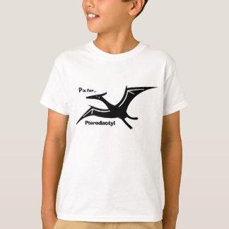 Camiseta P está para el Pterodactyl