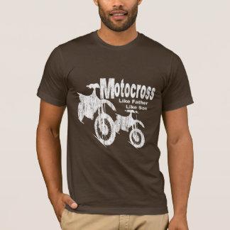 Camiseta Padre/hijo del motocrós