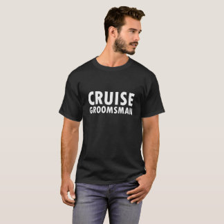 Camiseta Padrino de boda de la travesía