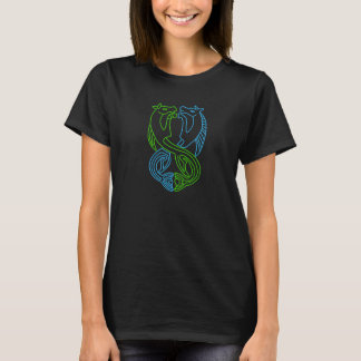 Camiseta pagana del caballo de mar