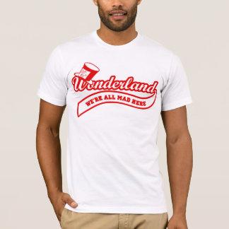 Camiseta País de las maravillas del equipo (rojo)