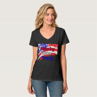 Camiseta País sobre el fiesta